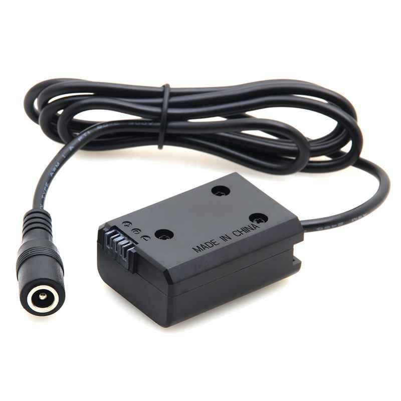 الدمية بطارية Np-Fw50 استبدال Dc المقرنة امدادات الطاقة الخارجية محول لسوني A7 A7R A7000 Nex5 Slt كاميرات