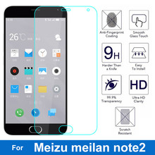 For Meizu M2 Be aware Tempered Glass Display Protector Extremely Skinny zero.26mm 9H 2.5D Protecting Movie for Meizu Blue Allure Note2