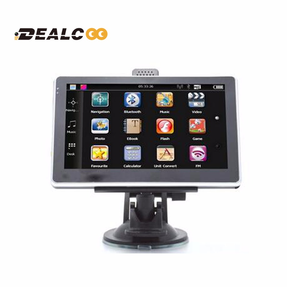 Aliexpress Buy Dealcoo 2017 5' Car Gps Navigator Fm4gb: Best Gps With Us And Europe Maps At Infoasik.co