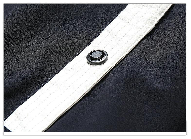 Autumn Winter Jacket Men 18 New Big Fur Hooded Thick Warm Mens Winter Coats Patchwork Color Windproof Parka Men Outwear 10
