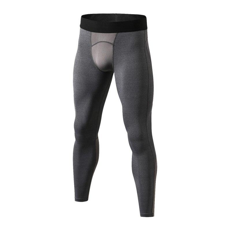 Spor ve Eğlence'ten Bisiklet Pantolonları'de 2018 yeni erkek çabuk kuruyan pantolon streç sıkı spor bisiklet egzersiz spor ter çabuk kuruyan erkek pantolon title=