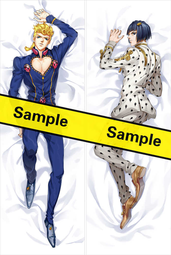 MMF Original jojo's bizarre adventure Golden Wind cool giorno giovanna body Pillowcase bruno buccellati vento aureo Dakimakura
