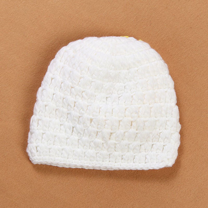 Newborn Sunflower Beanie Hat Crochet Pattern Baby Hat Toddler