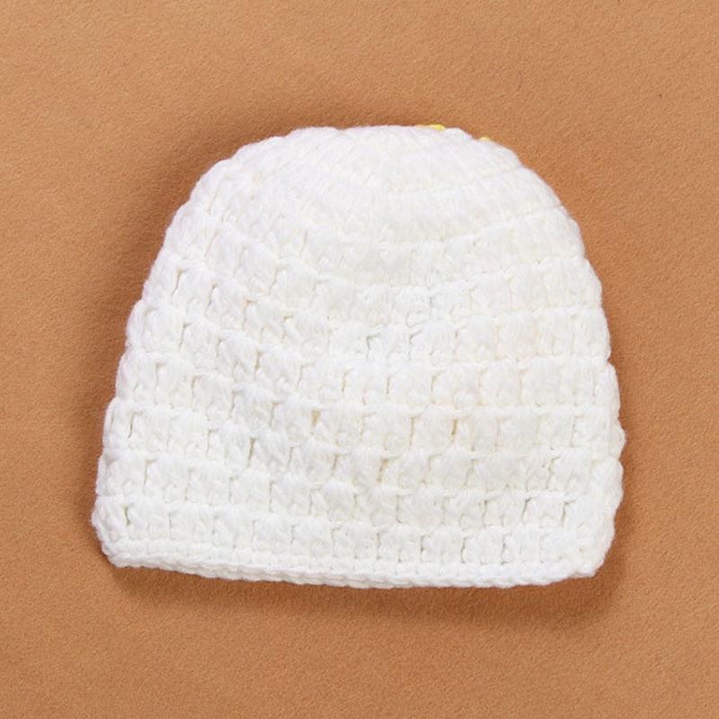 Newborn Sunflower Beanie Hat Crochet Pattern Baby Hat Toddler ...