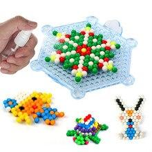 d707e53f3c40 3600 piezas 5mm Aquabeads DIY conjunto de agua magia Hama Aqua cuentas mano  hacer 3D rompecabezas juguetes educativos para regal.