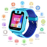 2019 New Waterproof Children smartwatch SOS Emergency Call LBS Security Positioning Tracking Baby Digital Watch Support SIM Card