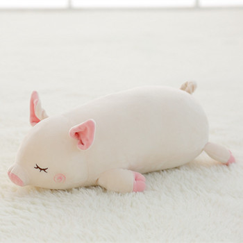 1pc 45cm Cute Soft Down Cotton Pig Plush Toy Stuffed Animal Lovely Pig Doll Baby Software Pillow Kawaii Gift for Girlfriend Kids stuffed toy