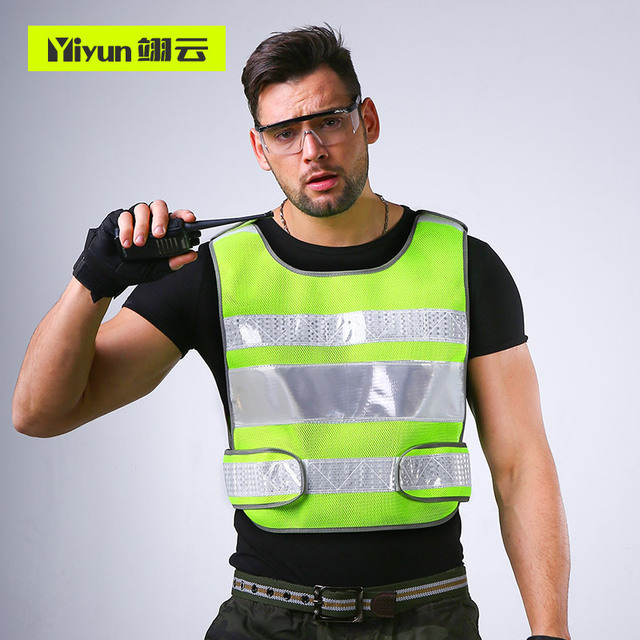 Reflective vest car annual review of fluorescent clothing vest construction construction of traffic safety protection jacket 1