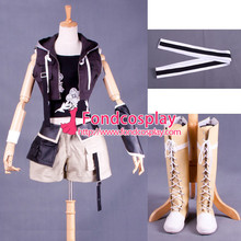 Free Shipping Final Fantasy Vii(ff7) Yuffie Cosplay Costume Tailor-made