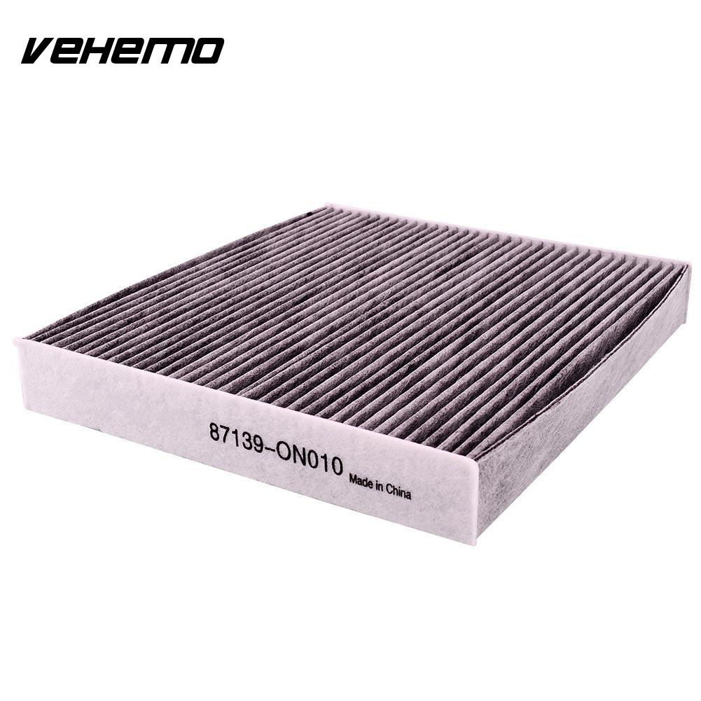 Vehemo oem carbonized grey c35667 new cabin air filter for car auto for toyota yaris highlander