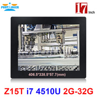 Partaker Elite Z15 17 Inch Panel PC Industrial With LPT Parallel Port Made In China 5
