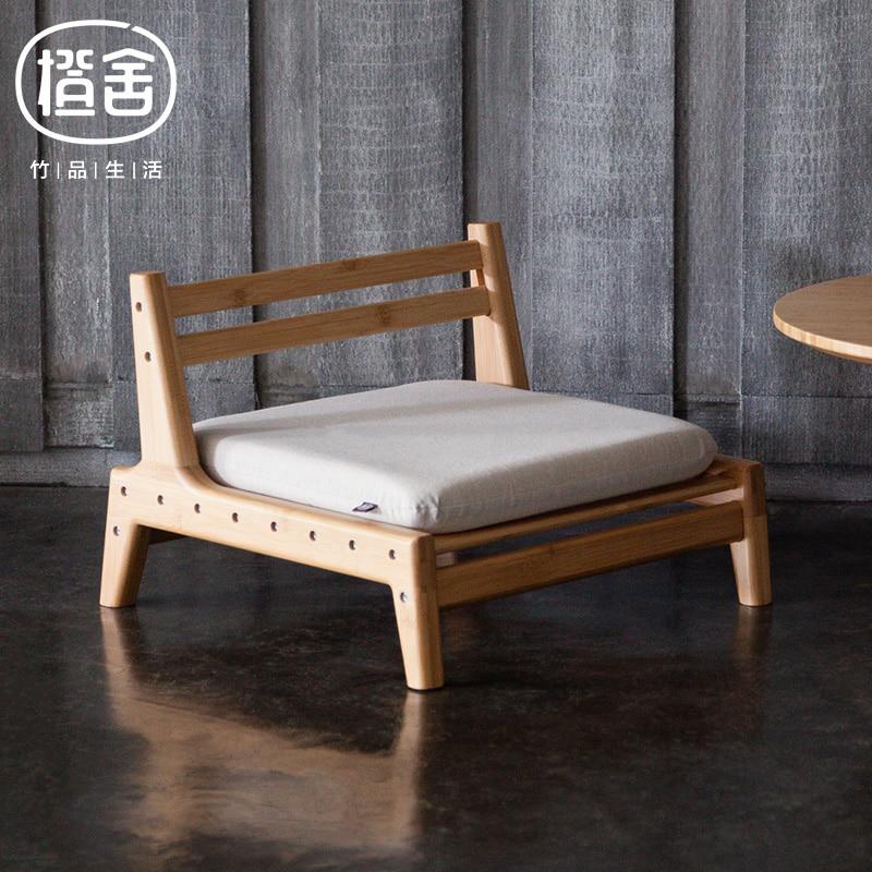ZEN'S БАМБУКА Татами стул Японский Стиль Бамбук Стул Спальня/гостиная мебель