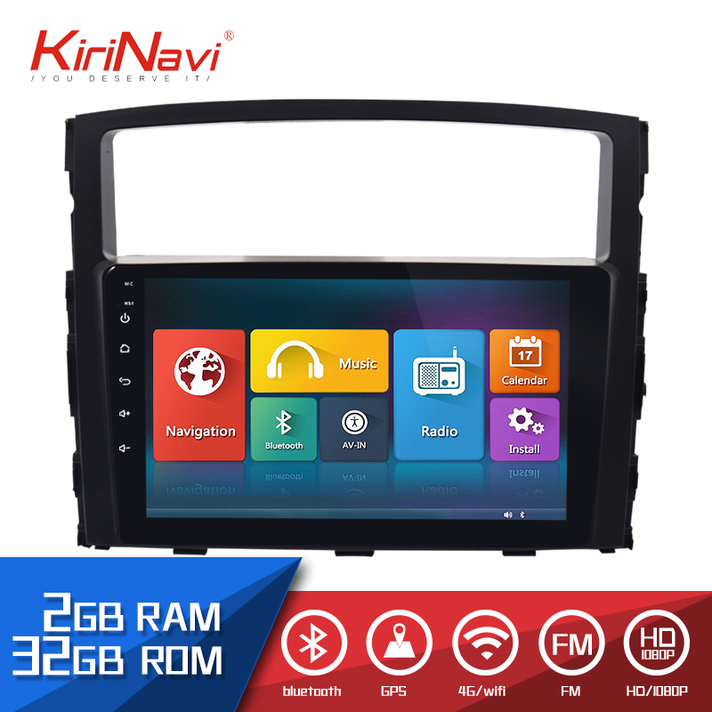 Kirinavi Car Radio 9 Touch Screen 2 Din android for Mitsubishi Pajero 2006-2015 dvd audio multimedia Navigation player radioKirinavi Car Radio 9 Touch Screen 2 Din android for Mitsubishi Pajero 2006-2015 dvd audio multimedia Navigation player radio