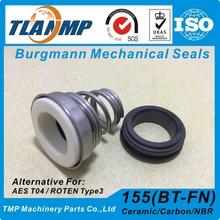 155-14 TLANMP Mechanical Seals for Circulating water pumps | AES T04 Burgmann BT-FN ROTEN Type 3 cheap CN(Origin) Metal Standard 155-14mm China 155 seals Single Spring Seal