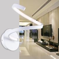 Moderno led quarto lâmpada de parede lâmpada de cabeceira entrada corredores