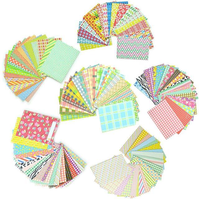 120 Sheets Colorful 6 Styles Photo Sticker Borders Film Stickers for Fujifilm Instax Mini 9/8/7s/70/26/50s/90 LiPlay Camera Film