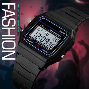 Luxury Men Analog Digital Military Sport LED Waterproof Wrist Watch fashion casual  10 Color Men Women Fitness Gift Clock 2019