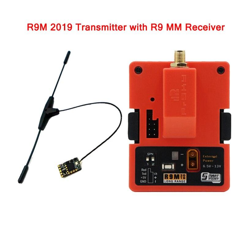 Frsky R9M/R9M 2019 900MHz émetteur longue portée monté R9 MM Mini récepteur pour RC modèles Multicopter pièces accessoires