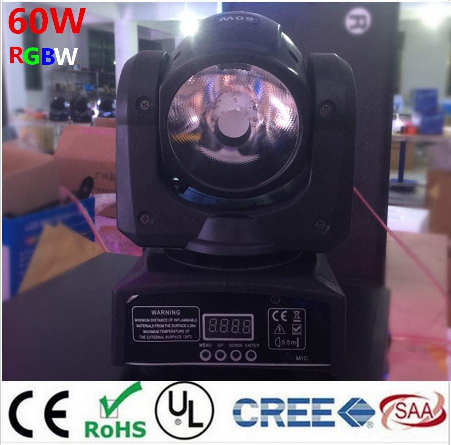 60W LED Spot Moving Head Light/ dj controller LED lamp Light 60W Beam led moving head lights super bright LED DJ disco light