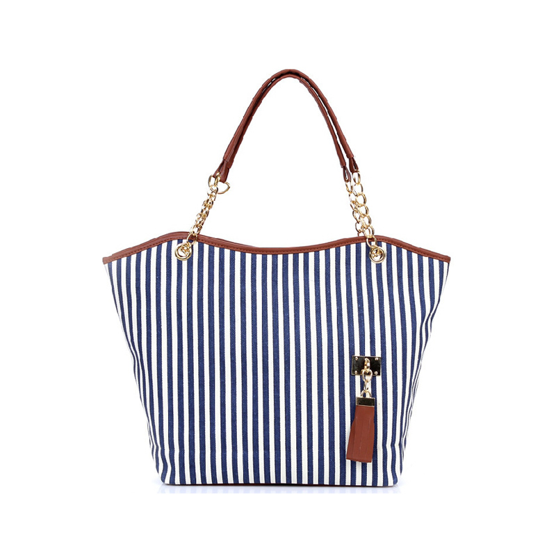 Popular Striped Tote Bags-Buy Cheap Striped Tote Bags lots from ...