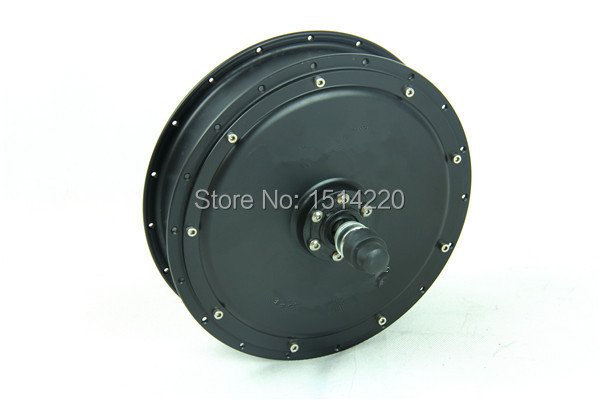 120Kph V2 bigger torque 3000W brushless no-gear hub motor for rear electric bike&electric bicycle