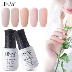HNM 8ML Gel Lack UV LED Licht Farbe Nagel Gel Stanzen Nagel Kunst Farbe Gel Nagellack Hybrid Lack sommer Gellak Gelpolish