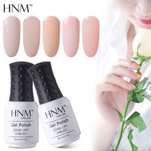 HNM 8ML Gel Vernis UV LED Licht Kleur Nail Gel Stamping Nail Art Verf Gel Nagellak Hybrid Vernis zomer Gellak Gelpolish(China)