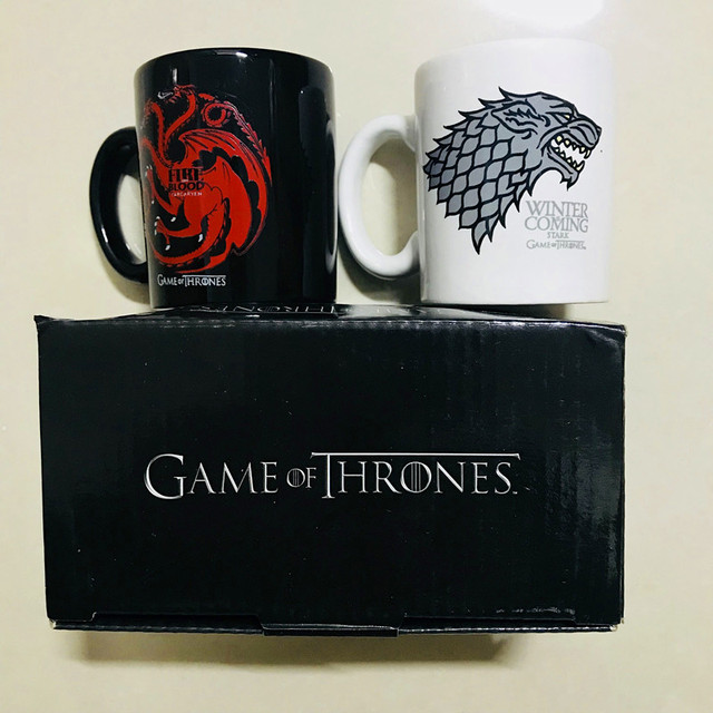 "Ceramic Cups ""Fire and Blood"" 2"