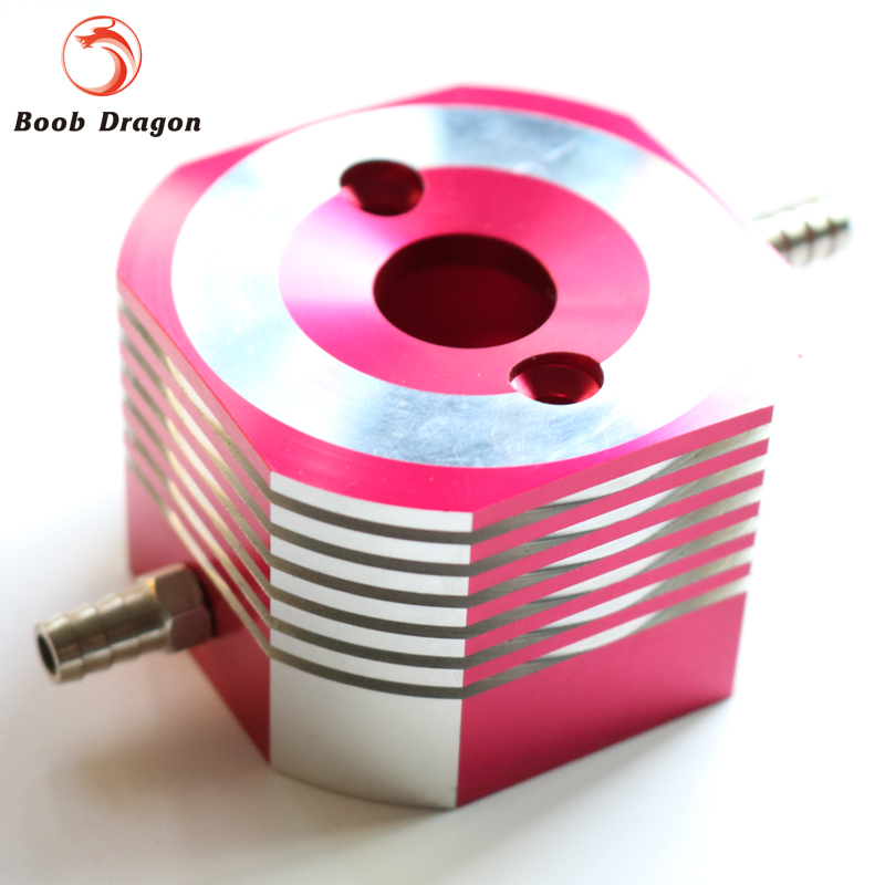 CNC Aluminum water cooling jacket for 29cc zenoah engine rc boat ...