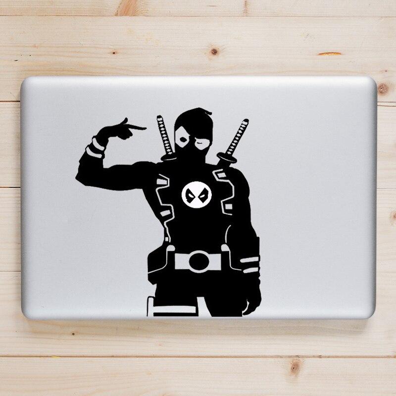 Deadpool Humor Vinyl Laptop Decal for font b Apple b font font b Macbook b font