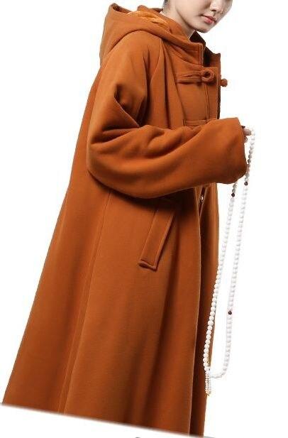 Hooded Winter Tai Ji Coat 2