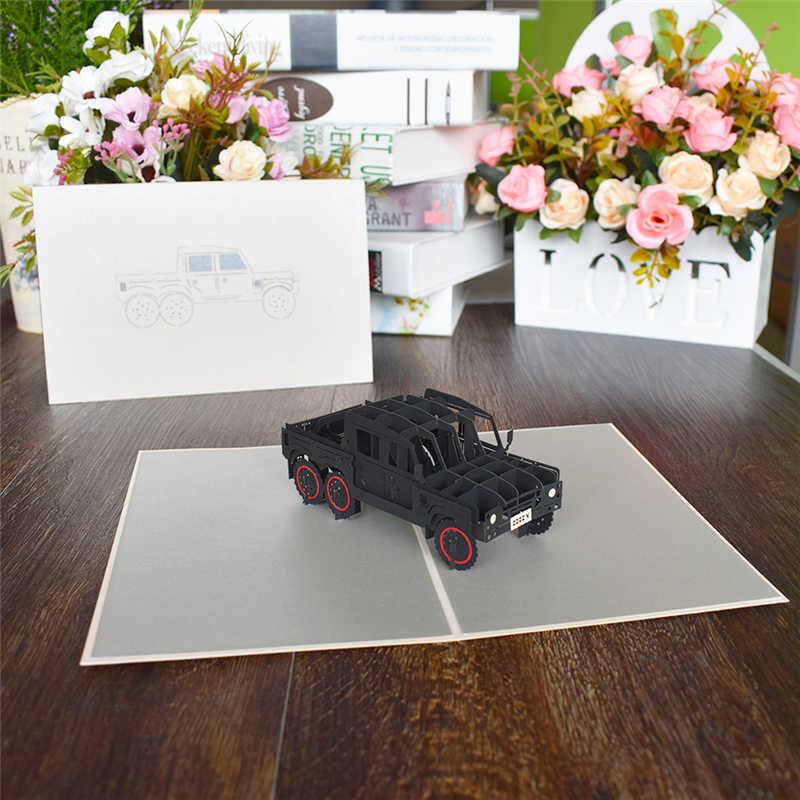 3D всплывающие карты Цветы День рождения карты юбилей подарки открытка Единорог клен вишня свадебные приглашения Поздравительные Открытки
