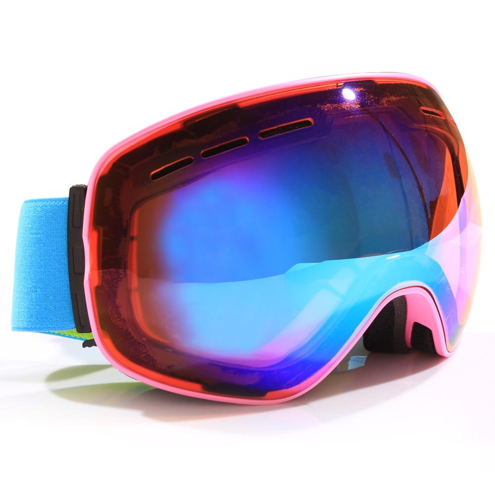 L'équipement de ski de snowboard neige ski verre lunettes snowboard ski lunettes de soleil femmes lunettes de ski femmes