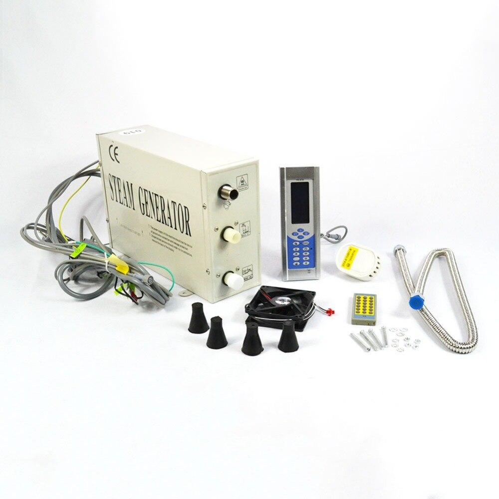 Générateur de vapeur 1.5KW/3KW facile fonctionnement Sauna de bain pour la maison SPA sauna et bain