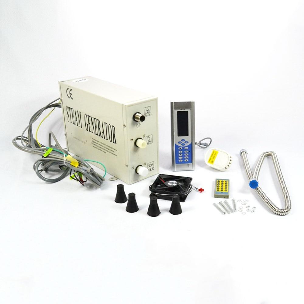 Generatore di vapore 1.5KW/3KW funzionamento facile Sauna vasca da bagno per la casa SPA sauna e bagno