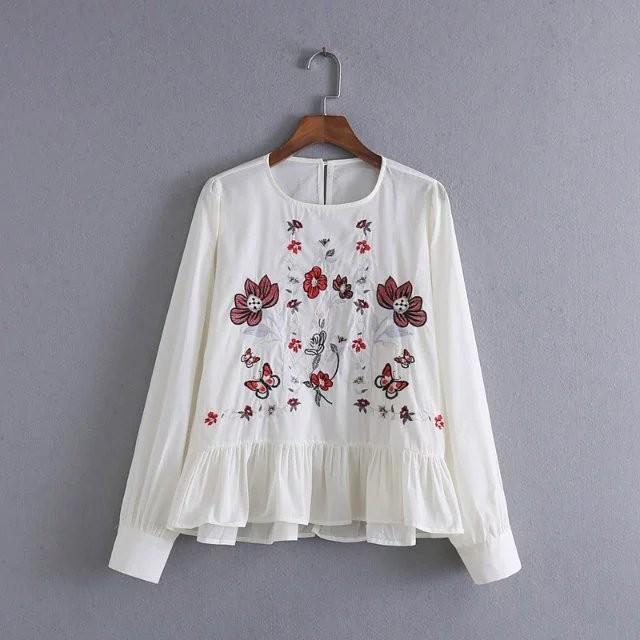 HTB1rw8xOFXXXXcYXVXXq6xXFXXX3 - 2017 Spring Women Vintage Flower Embroidery Casual Shirts