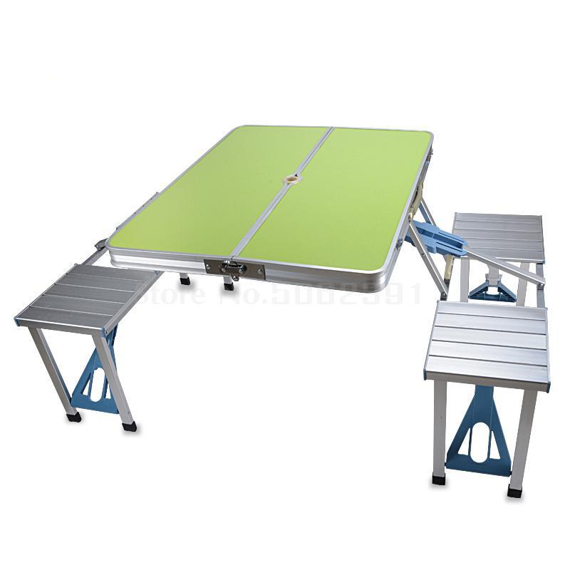 Suitcase, Table, Outdoor Folding Table, Chair, Dining Table, Barbecue Table, Small Table, Folding Table, Portable Table-setting(China)