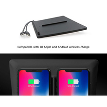 Wireless Charger Board Edition Mobile Auto Accessories Fast Charging Secure Dual USB Port