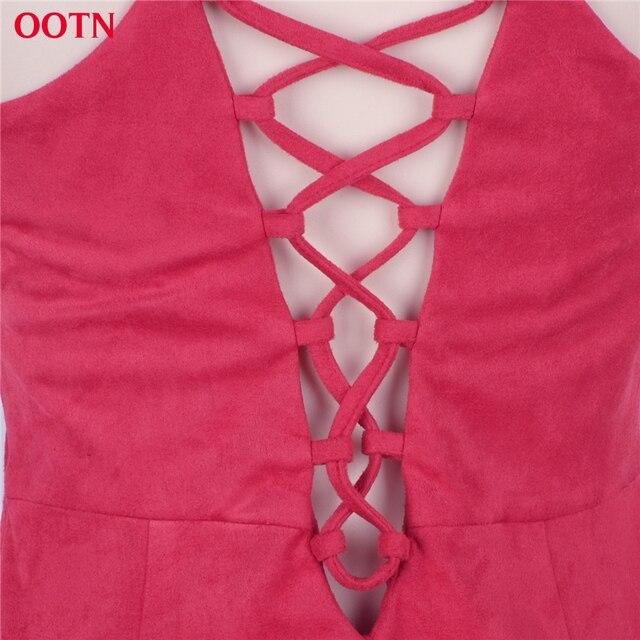 Suedette Sleeveless Tunic Bodycon Dress