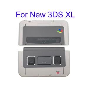 Image 5 - لنينتندو جديد 3DSLL XL SNES طبعة محدودة الجبهة الخلفي غطاء الإسكان شل الحال بالنسبة New3DSXL LL