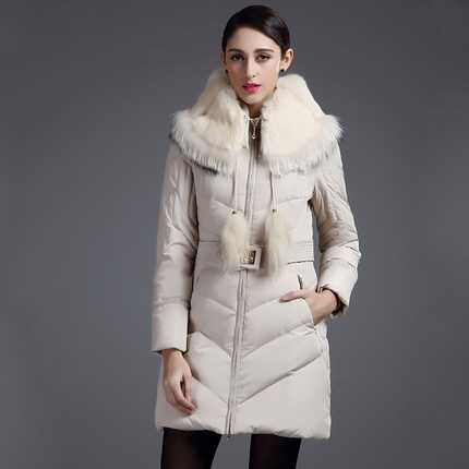 Luxury Racoon Fur Collar Parka 2015 Fashion Winter Coat Women Slim Waist Thicken Jacket Women Plus Size Overcoat H6060 roomble люстра racoon white