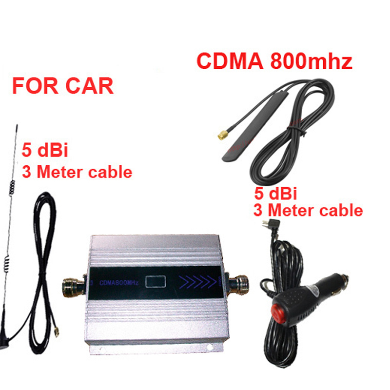 For Car Booster CDMA800 Mobile Phone Signal Booster For Car,LCD Display Cdma 800mhz Signal Repeate CDMA For Vehicle Repeater