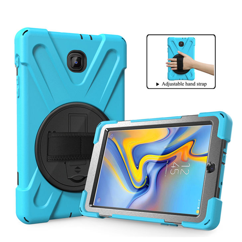 Tab A T387 Case Cover Silicon PC Slim 8'' Protective Stand For Samsung Galaxy Taba 8.0 2018 SM T387 Shockproof Tablet Skin Funda