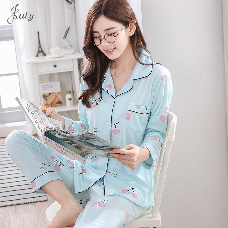 Breastfeeding Pyjamas Cotton Clothing Long Tops   Set   Maternity Nursing Pyjamas   Sets   Night Suit Sleepwear Women Home Clothes