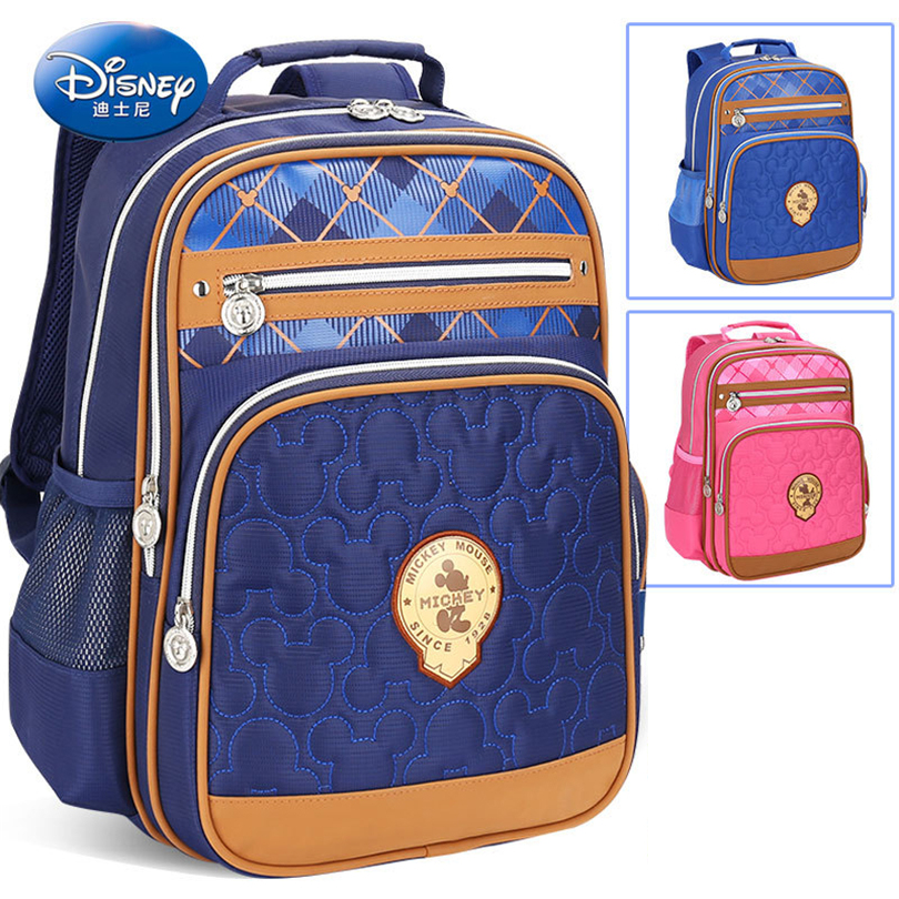 172d71dd5ce8 Disney Mickey Mouse Children Backpack High Quality School Bag for  Boys Girls Cartoon Schoolbag Ultralight Kids Satchel ...