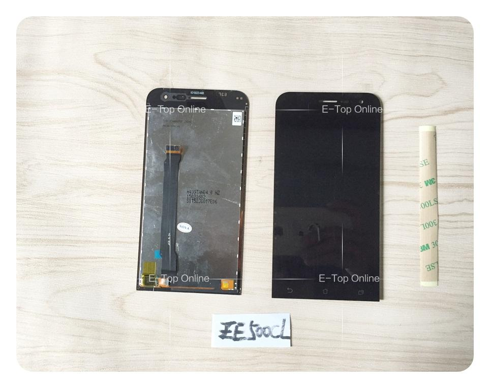 ФОТО Black LCD Assembly For Asus Zenfone 2 ZE500CL LCD Display Screen + Touch Screen Digitizer +  Free Tracking