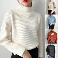 ZOGAA 2019 christmas sweater Casual fashion 6 colors turtleneck Autumn new women knit