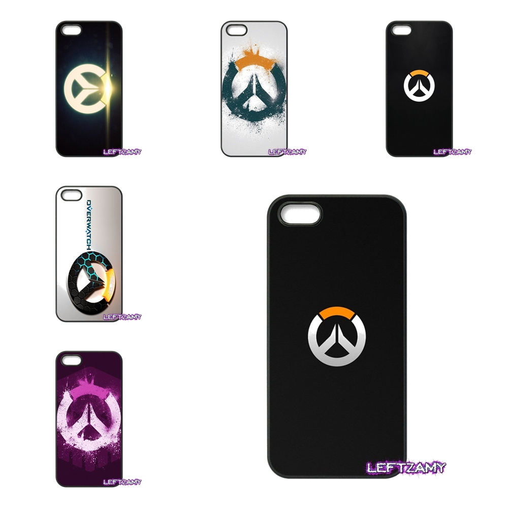 Amazing Overwatch Game Logo Hard Phone Case Cover For iPhone 4 4S 5 5C SE 6 6S 7 8 Plus X 4.7 5.5 iPod Touch 4 5 6