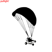 Powered Paragliding Personalized Car Stickers Fashion Reflective Vinyl Decals