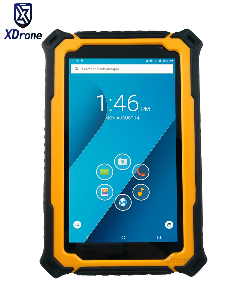 China T71V3 IP67 Waterproof Tablet PC Phone High Accuracy Gps GNSS Rugged Android 5.1 7 Inch 1280x720 3GB RAM UHF RFID Reader